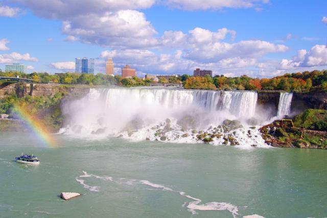 ナイアガラの滝はカナダの象徴|あの迫力は絶対に見ないと損!