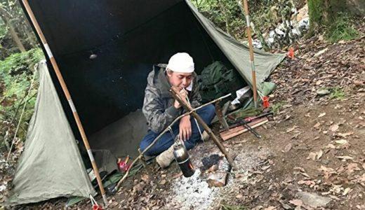 ヒロシはキャンプとユーチュブで場所を選ばず現在・未来を生きる!